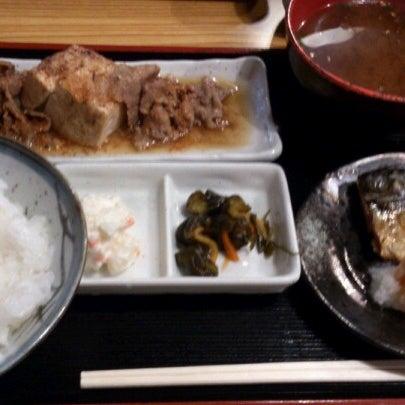 Photo taken at 上総屋 by GOGOGO! on 11/16/2012