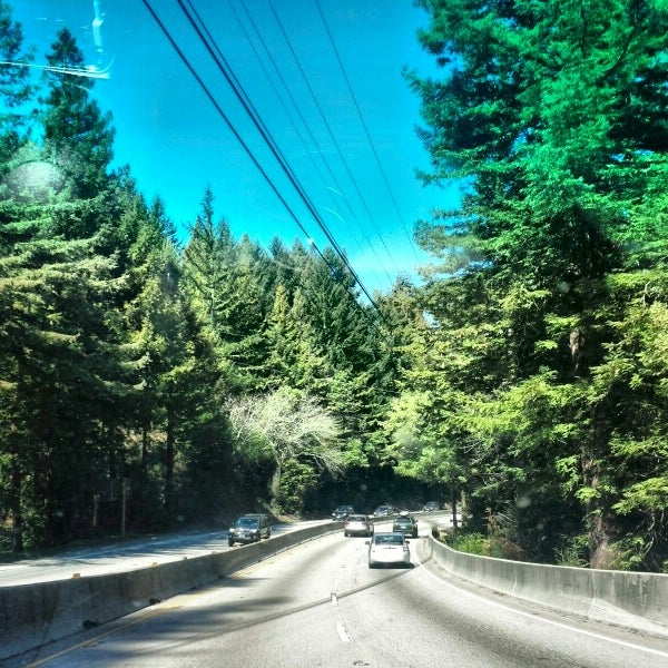 Photo taken at Santa Cruz Mountains by kumi m. on 2/23/2014