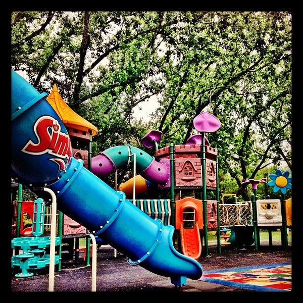 Photo taken at Simba Playground @ Delta Park by Brennan B. on 10/10/2012