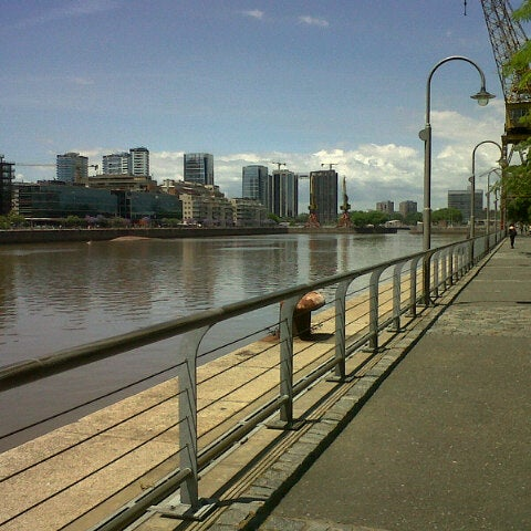 Photo taken at Puerto Madero by Nat R. on 11/20/2012