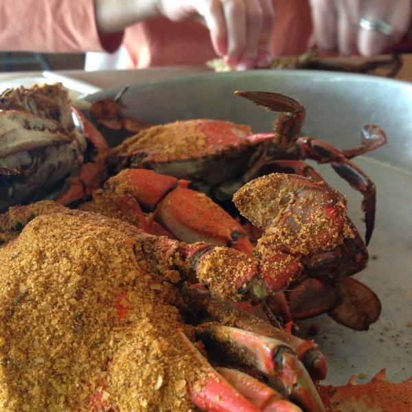 Photo taken at May's Crab & Seafood by Derek H. on 4/28/2013