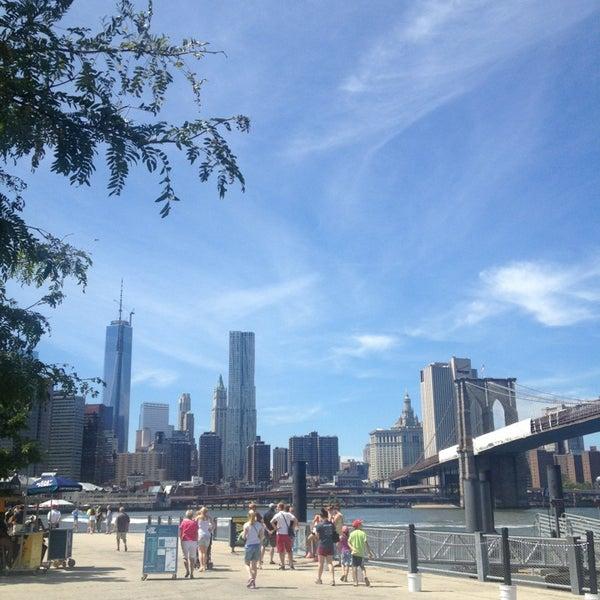 Photo taken at Brooklyn Bridge Park by Bill B. on 8/5/2013