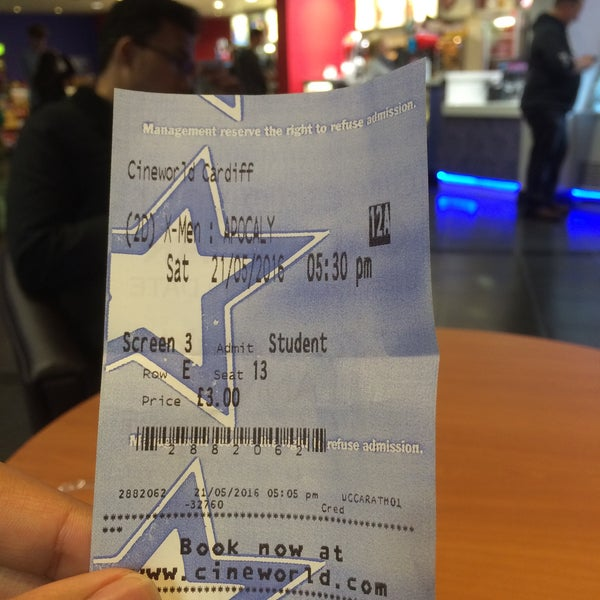 Photo taken at Cineworld by Acap Y. on 5/21/2016