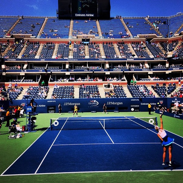 Photo taken at US Open Tennis Championships by Jason B. on 8/27/2013