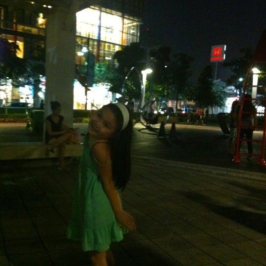 Photo taken at Bonifacio High Playground by Andrea S. on 12/2/2012