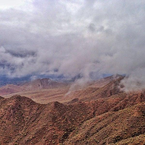 Photo taken at Sunrise Peak by Gregg J. on 12/15/2012