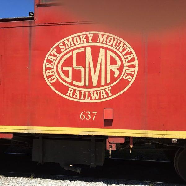 Photo taken at Great Smoky Mountain Railroad by Joy D. on 5/14/2017