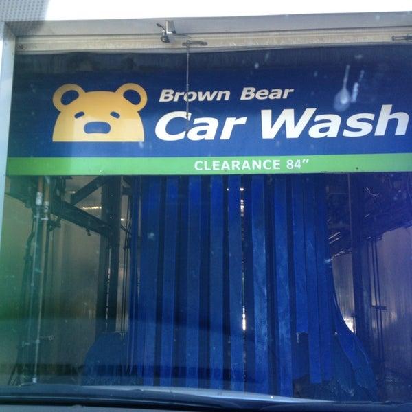 Brown Bear Car Wash Redmond Way Redmond Wa