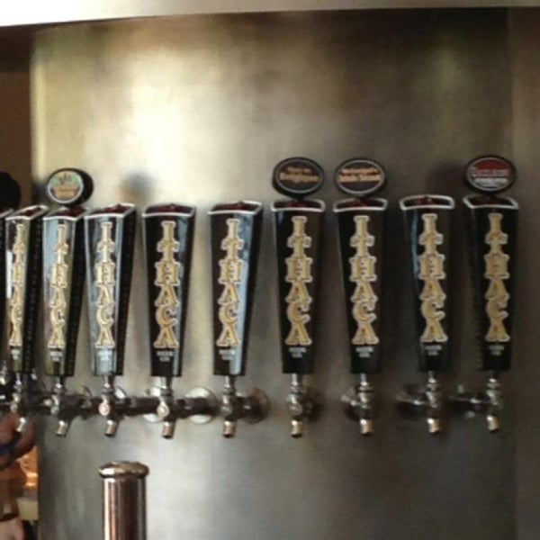 Photo taken at Ithaca Beer Co. Taproom by Craftsman A. on 5/5/2013
