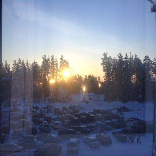 Снимок сделан в Красное озеро пользователем Karina M. 12/16/2012
