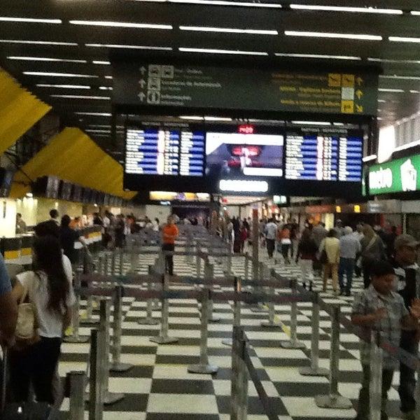 Снимок сделан в Международный аэропорт Конгоньяс/Сан-Паулу (CGH) пользователем Sergio Ricardo C. 7/21/2013