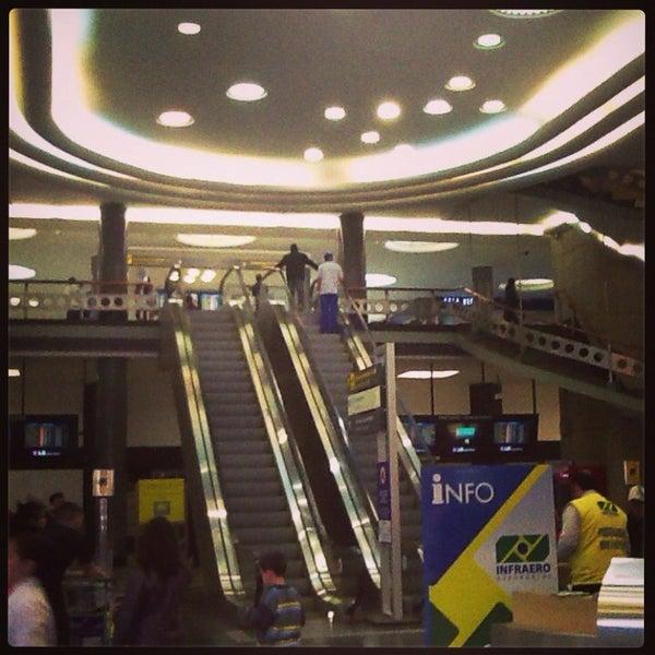 Снимок сделан в Международный аэропорт Конгоньяс/Сан-Паулу (CGH) пользователем Sergio Ricardo C. 7/8/2013