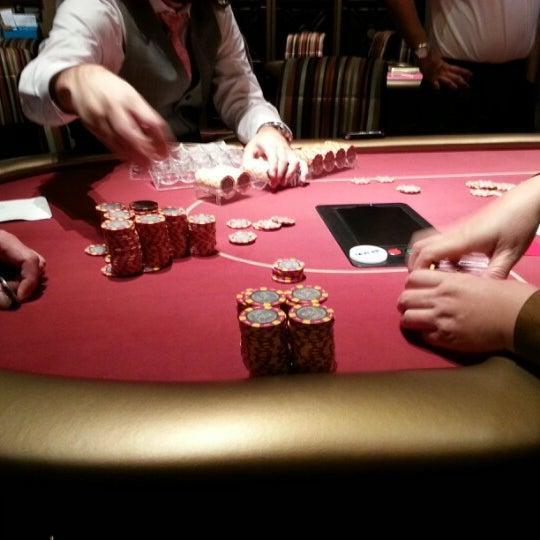 Photo taken at Aria Poker Room by Kela M. on 11/16/2012