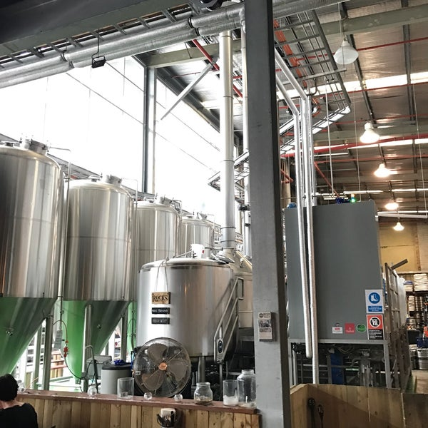 Photo taken at Rocks Brewing Co by Neil H. on 3/14/2017
