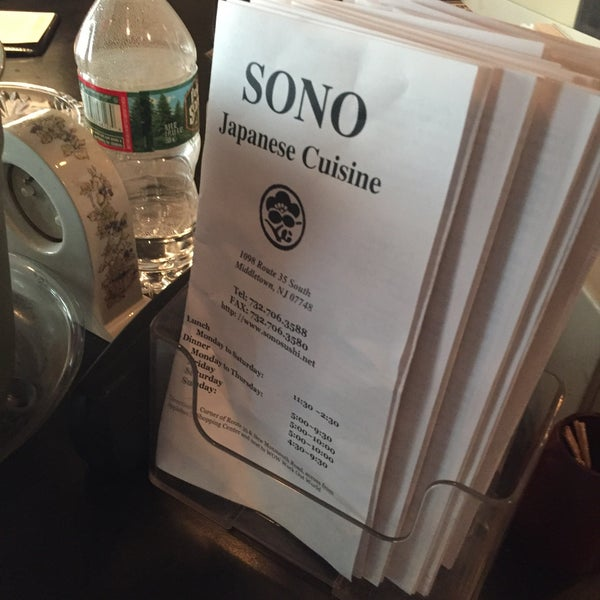 Photo taken at Sono Sushi by Brian W. on 7/15/2016