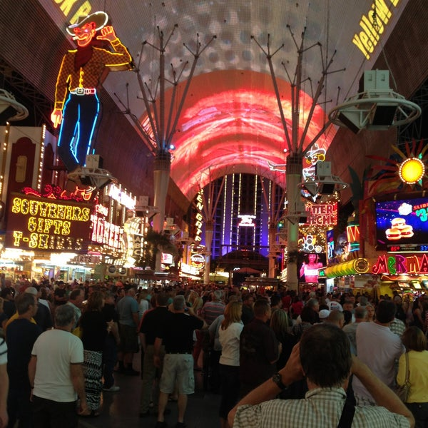 Photo taken at Fremont Street Experience by Terrence J. on 5/24/2013