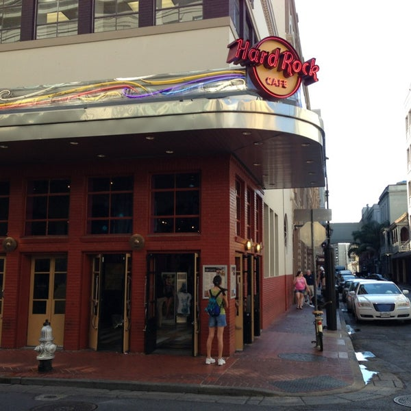Hard Rock Cafe New Orleans Gift Shop