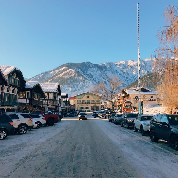 Photo taken at Town of Leavenworth by Jeff L. on 12/31/2016