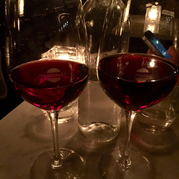 Photo taken at Vanguard Wine Bar by Marie F. on 1/10/2016