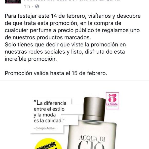 Photos at La quinta - Casa de perfumes - Perfume Shop