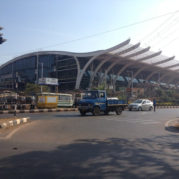 Photo taken at Goa International Airport / Dabolim Airport (GOI) by Aleksandr I. on 4/5/2013