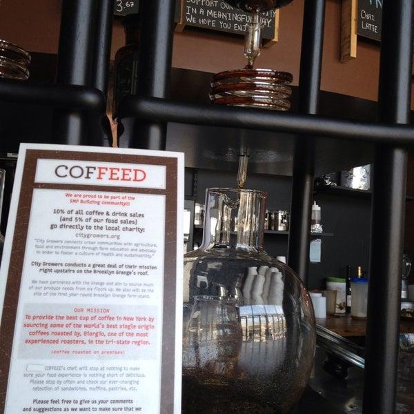 Socially responsible café! #thumbsup