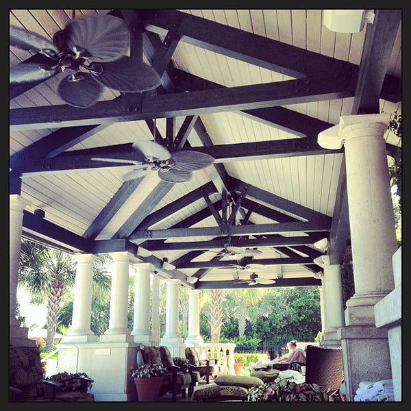 Photo taken at The Spa at Ponte Vedra Inn & Club by Kyle W. on 6/1/2013