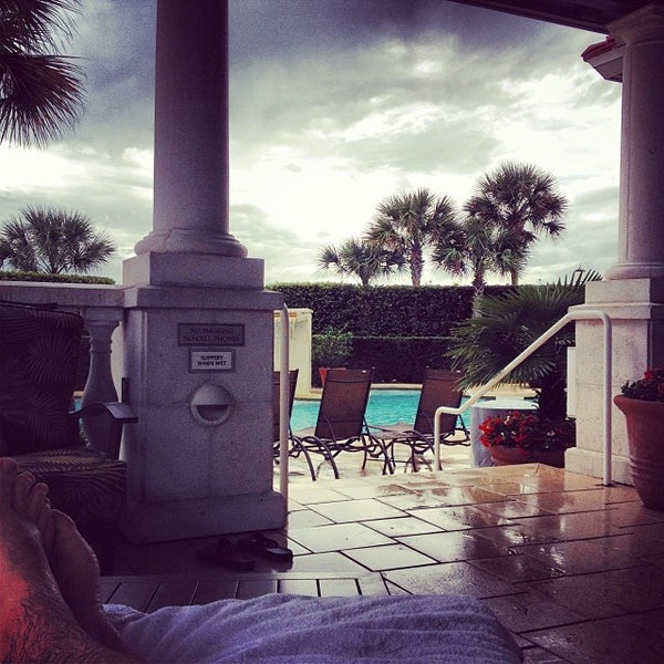 Photo taken at The Spa at Ponte Vedra Inn & Club by Kyle W. on 12/29/2013
