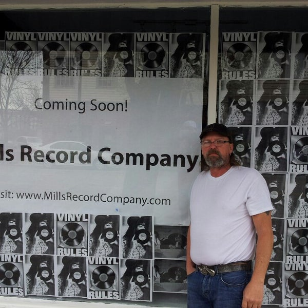 Photo taken at Mills Record Company by Deano D. on 4/15/2013