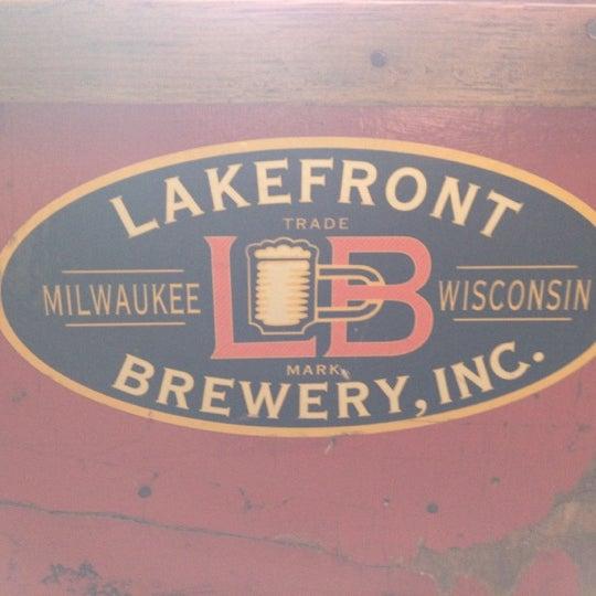 Photo prise au Lakefront Brewery par Steve D. le1/24/2013