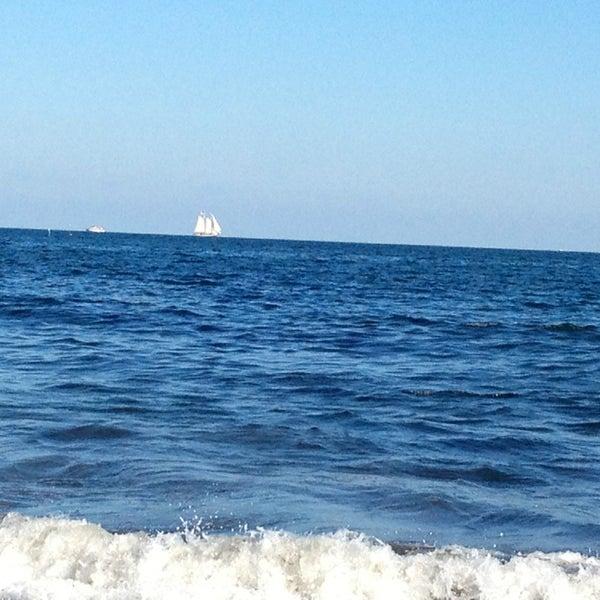 Photo taken at Silver Beach by Jeff W. on 7/29/2013
