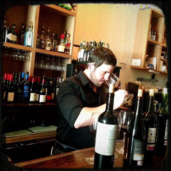 Photo taken at 1215 Wine Bar & Coffee Lab by Logan B. on 5/15/2013