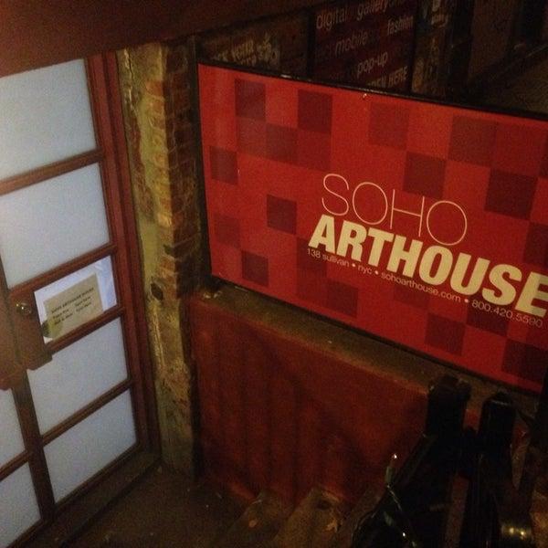 Photo taken at SoHo Gallery for Digital Art by Matt V. on 12/12/2013