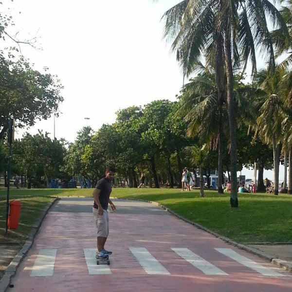 Photo taken at Flamengo Park by Aguinaldo F. on 4/27/2013