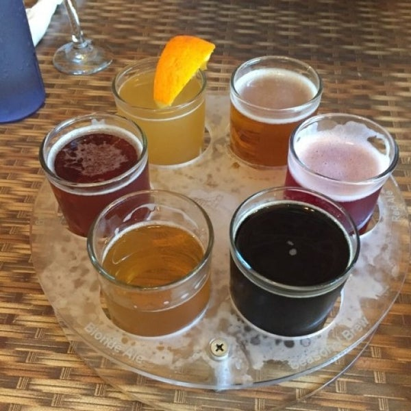 Photo taken at San Pedro Brewing Company by Ben W. on 6/6/2016