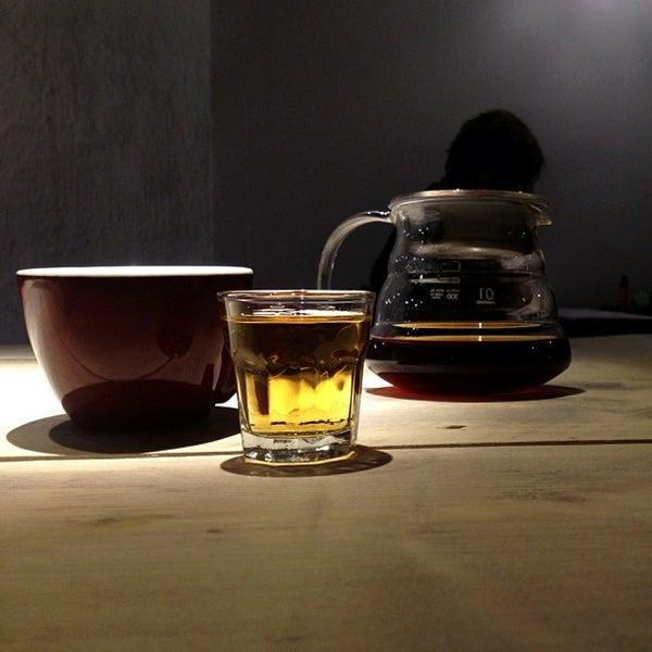 Photo taken at Noir Koffiebar by Jan on 12/31/2012