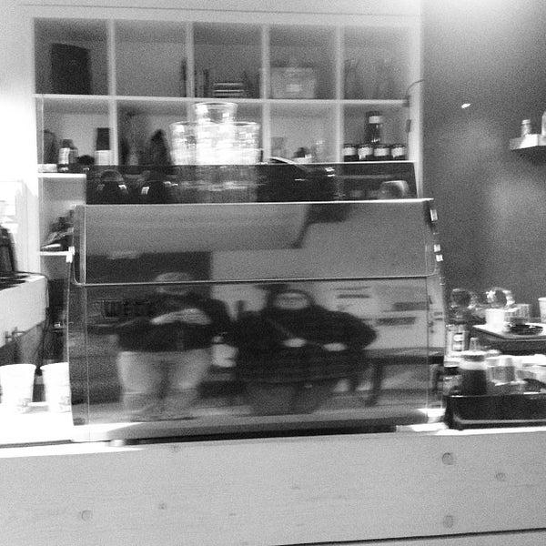 Photo taken at Noir Koffiebar by Jan on 3/22/2013