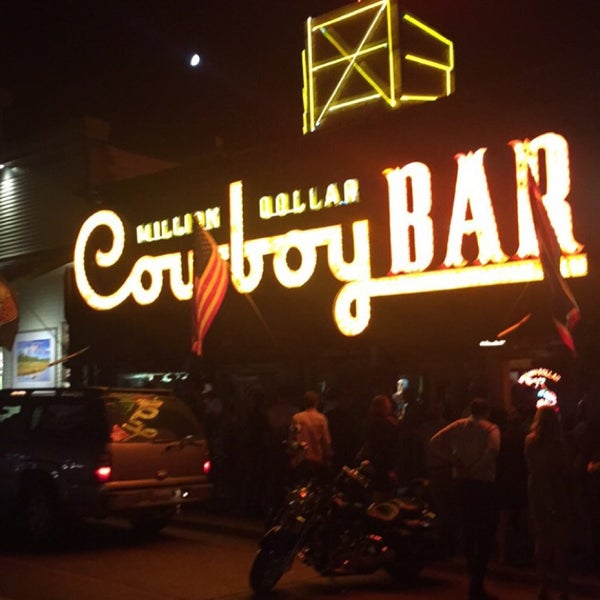 Photo taken at Million Dollar Cowboy Bar by Jennifer on 7/26/2015