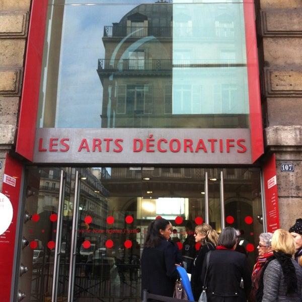 Les arts d coratifs art museum in louvre paris - Les arts decoratifs paris ...