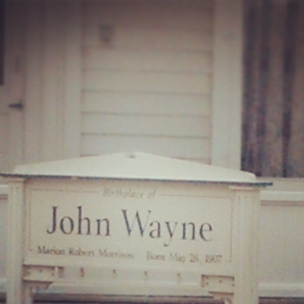 Photo taken at John Wayne Birthplace Museum by Francisco P. on 3/17/2013