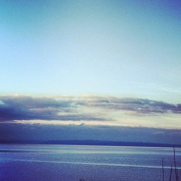 Photo taken at Carkeek Park by Jennifer R. on 12/31/2012