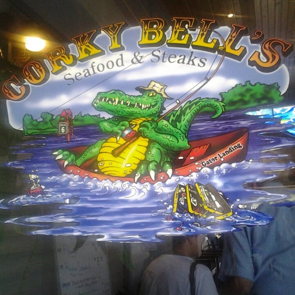Photo taken at Corky Bell's Seafood by Kimberly N. on 9/9/2013