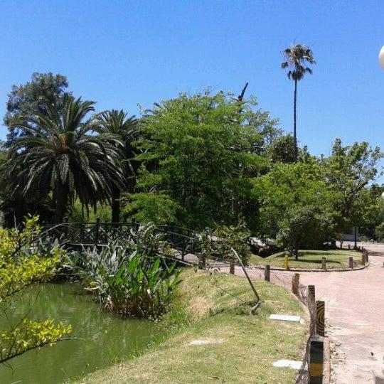 Photo taken at Parque José Enrique Rodó by Carolina P. on 12/8/2012