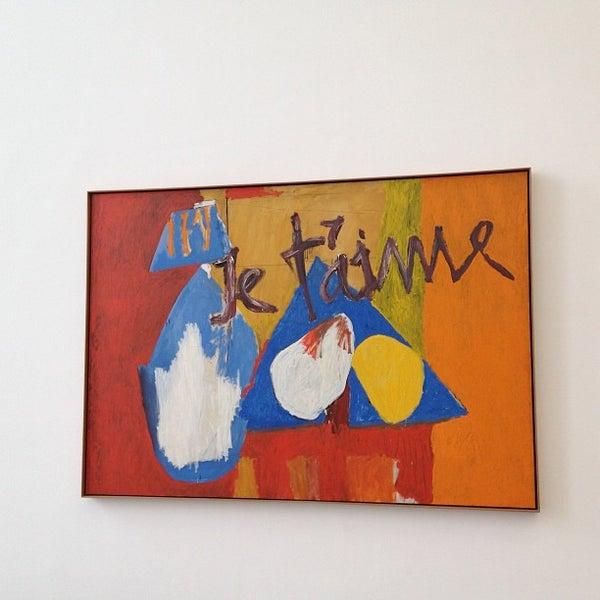 Photo taken at Pinakothek der Moderne by Илона З. on 2/17/2013