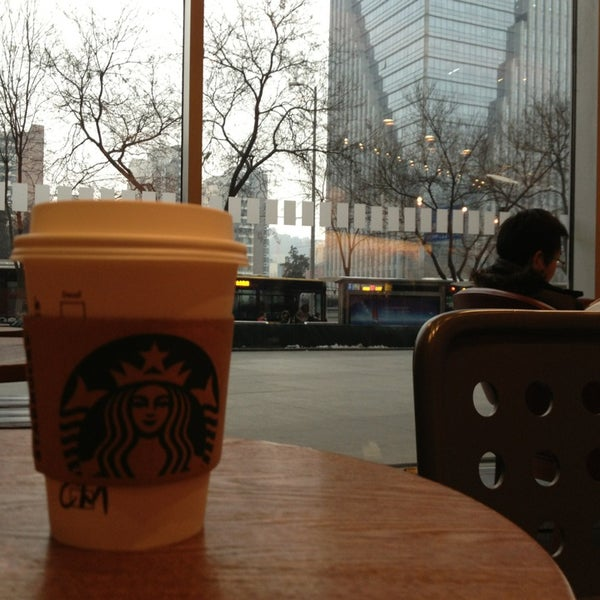 Photo taken at Starbucks 星巴克 by Paolo 7. on 2/5/2013