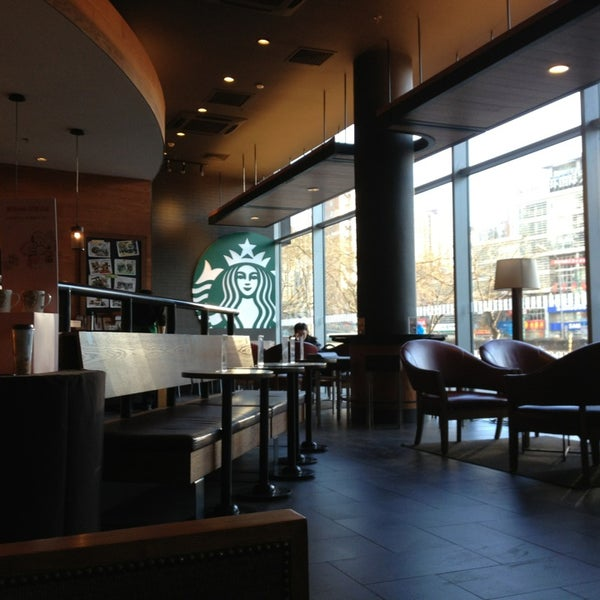 Photo taken at Starbucks (星巴克) by Paolo 7. on 2/1/2013