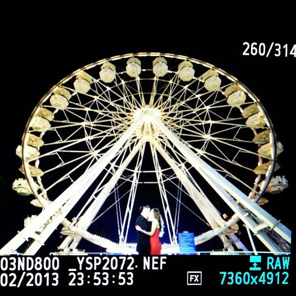 Photo taken at Ferris Wheel At The Pike by Yansen S. on 1/3/2013