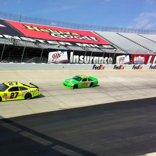 Photo taken at Dover International Speedway by Bryan N. on 9/28/2012