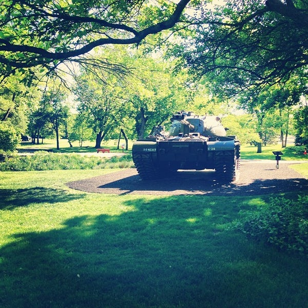 Photo taken at Cantigny Park by Amanda D. on 5/24/2013