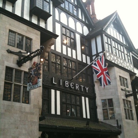 Photo taken at Liberty of London by Kevin H. on 12/8/2012